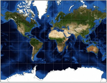 What is a Datum and a Projection? Define Map Projection on