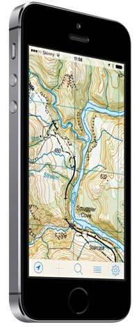 NZ Topo Maps For IPhone And IPad MapToaster - Topo maps app for iphone