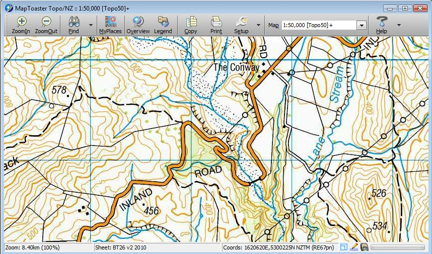 Nz Topo Maps With Gps Integration For Your Computer Now With